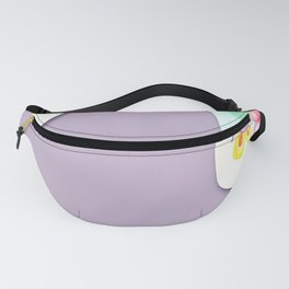 watercolour paper flower Fanny Pack