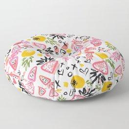 Fun Fruits Floor Pillow