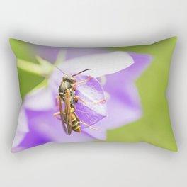 Paper Wasp 1 Rectangular Pillow
