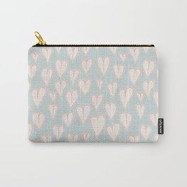 Heart Doodle Pattern 09 Carry-All Pouch