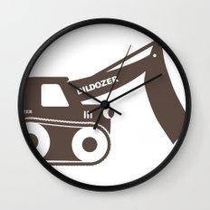 Dildozer Wall Clock