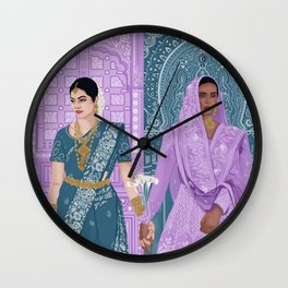 I Stand With You.  Wall Clock