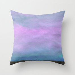 Slow Air Throw Pillow