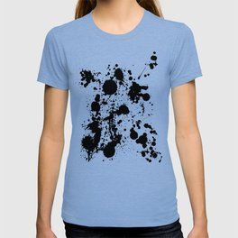 Ink spattered all over - Pattern #society6 #lifestyle T-shirt