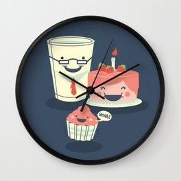 Oh! my sweet little cupcake. Wall Clock