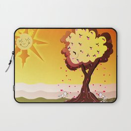 Under the tree part II Laptop Sleeve