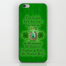ST PATTYS DAY - 002 iPhone & iPod Skin