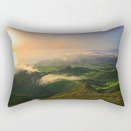 Azores islands landscape Rectangular Pillow