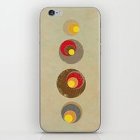 blankets iPhone & iPod Skins featuring Tendency by Metron