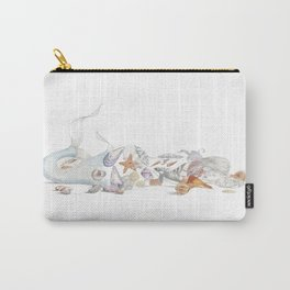 Beached Mermaid Carry-All Pouch