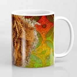 Woman With Lace Textured Skin Coffee Mug