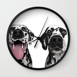 Dalmatians Wall Clock