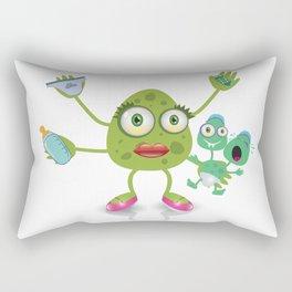 babysitter monster Rectangular Pillow