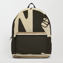 NYC Peace Sign (Color) Backpack