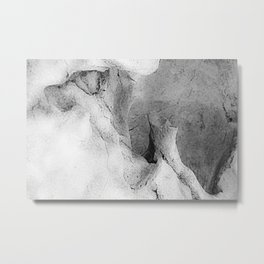 Marble Abstract 1 Metal Print