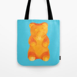 Gummy Bear Polygon Art Tote Bag