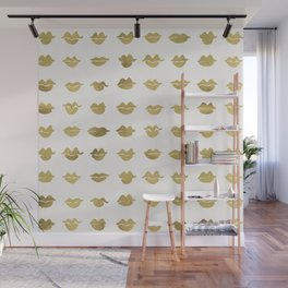 Kiss Collection – Gold Ink Wall Mural