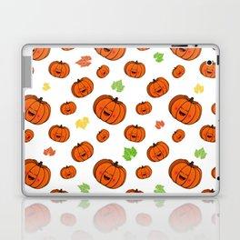 The happy pumpkin Laptop & iPad Skin
