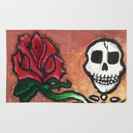 DEAD FLOWER Rug