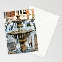 Frozen Fountain Stationery Cards