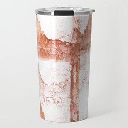 Sienna nebulous wash drawing Travel Mug