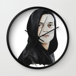 Elliot Alderson Mr. Robot Wall Clock