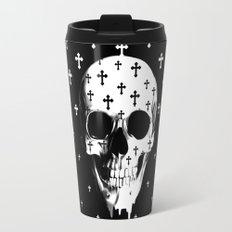After Market, gothic skull Travel Mug