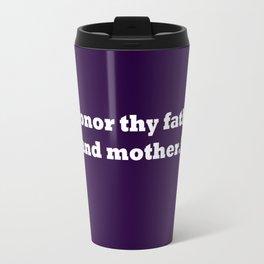Ten Commandments...FOUR Travel Mug
