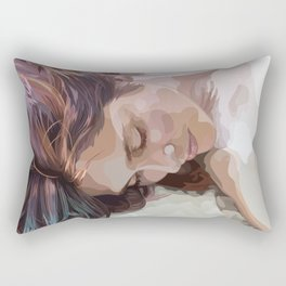 As She Pondered Her Options... Rectangular Pillow