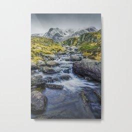 Snowdonia Mountains Metal Print