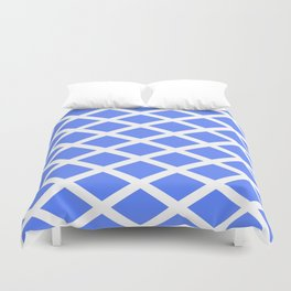 abstraction from the flag of scotland. Duvet Cover