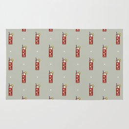 Mixed Pattern - Icon Prints: Drinks Series Rug