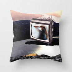 Idle Hours Throw Pillow