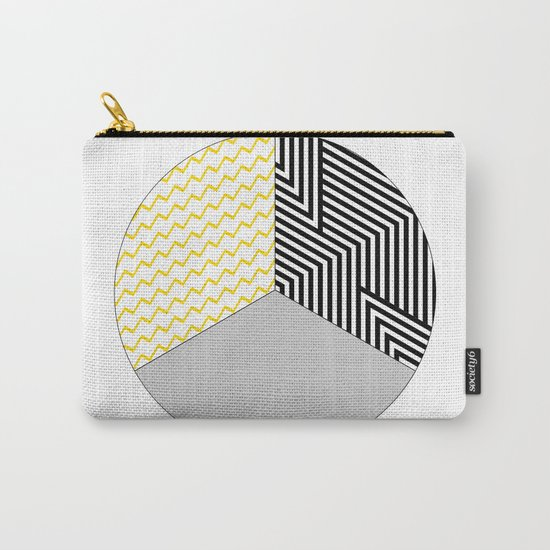Geometric Circle #2 Carry-All Pouch