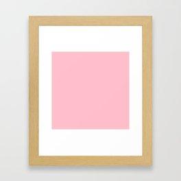 (Pink) Framed Art Print