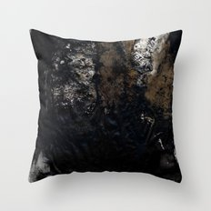 Steps in the dark Throw Pillow