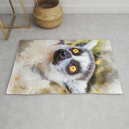 Lemur #lemur #animals Rug