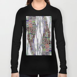 Weaving the Thread: Strands of Life Long Sleeve T-shirt