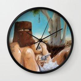 Ned Kelly Wall Clock