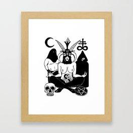 Baphomet and Executioner Framed Art Print