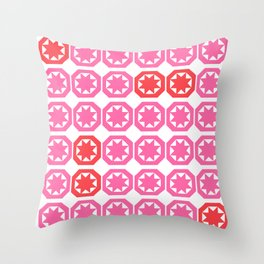 The Red Ones Throw Pillow