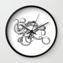 Genius Loci Octopus Wall Clock