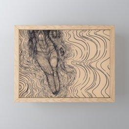 In Static Motion Framed Mini Art Print