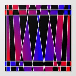 Art Deco 'Fractured' Canvas Print