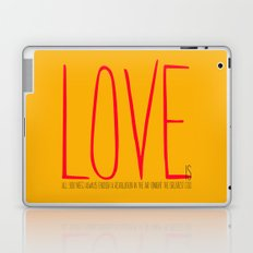 love is  Laptop & iPad Skin