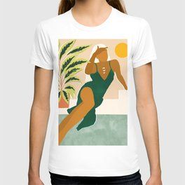 The Wait Is Long But My Dream Of You Does Not End #illustration T-shirt
