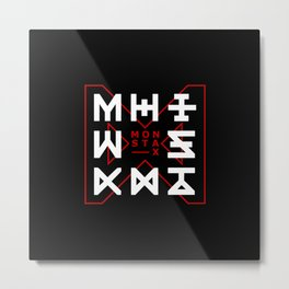 Monsta X -The Code Metal Print