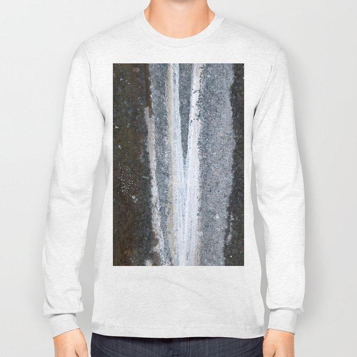 Soapstone texture #1 #decor #art #society6 Long Sleeve T-shirt