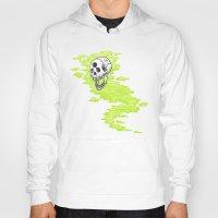 lv Hoodies featuring Lv. 24 Skeletal Wisp by Creeps by Caleb