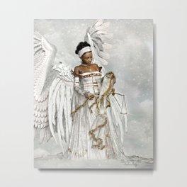 Joeline Metal Print